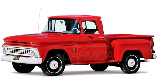 Chevrolet C10 Stepside Pickup (C1404) '1963