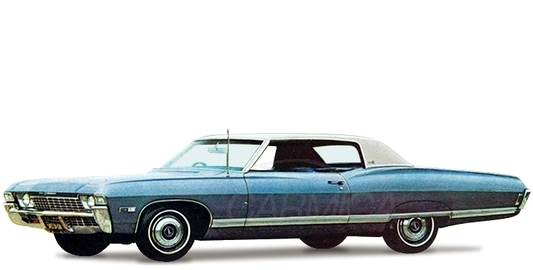 Chevrolet Caprice Hardtop Coupe (166-47) '1968