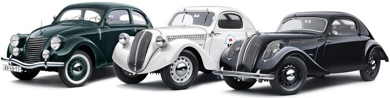 Каталог автомобилей Škoda на белом фоне.