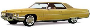Cadillac Coupe de Ville '1971